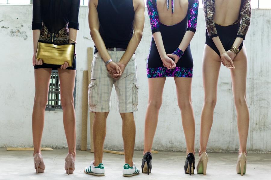 Fashionable East Fashion WEEK, Białystok 2012 - pokaz mody - Małgorzata Żukowska (Białystok)