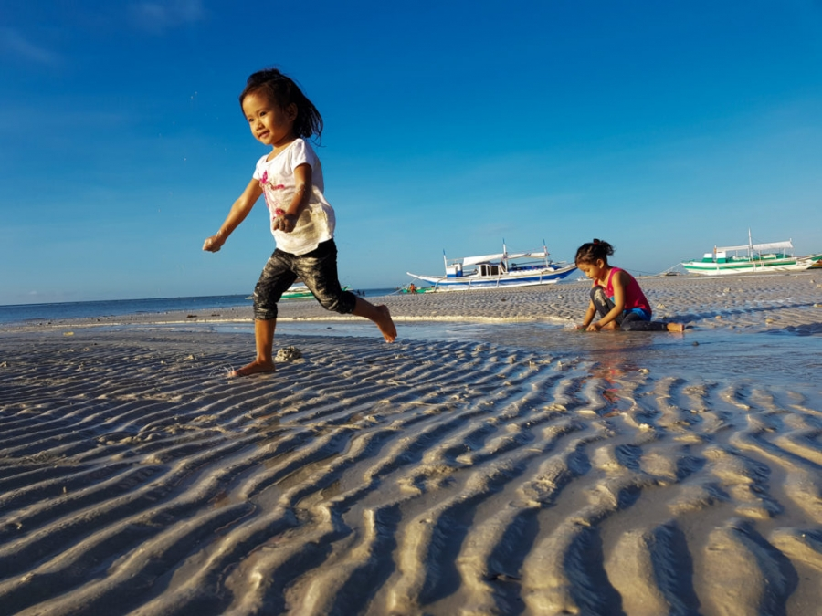 Santa Fe Beach, Bantayan Island, Filipiny