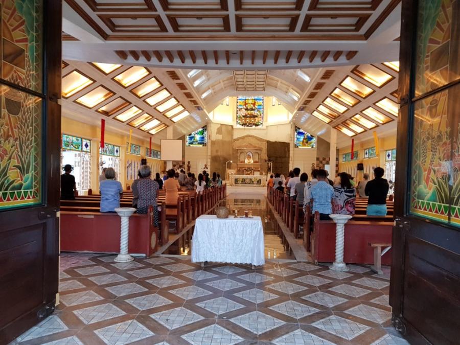 Niedzielna msza