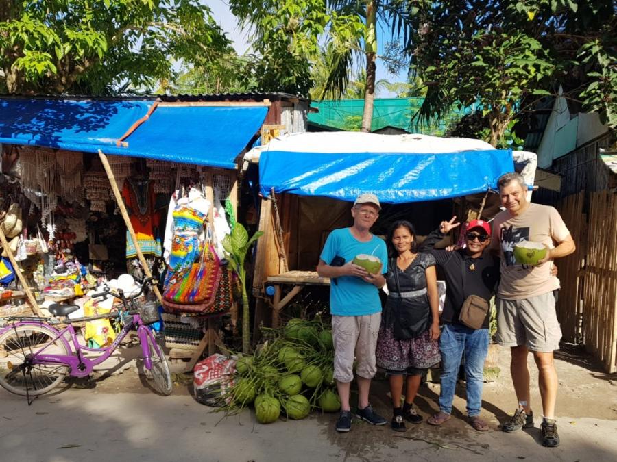 Nasz dostawca kokosów - Arturo i jego żona