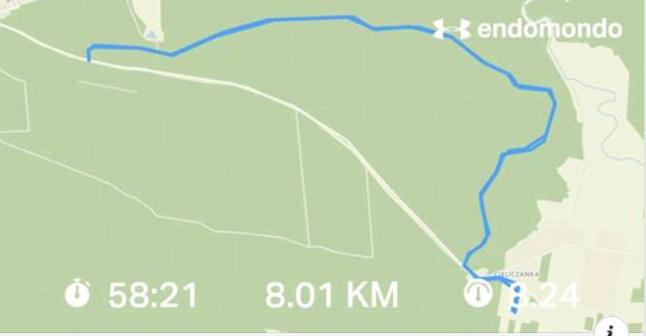 Nordic Walking 8km
